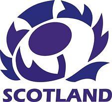2 X Cardo Escocés Escocia Coche Decal Sticker Ventana Parachoques Rugby JDM portátil