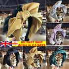 Womens Headband Alice Band Top Big Bow Knot Cute plain Silk Cute Twist Hairband