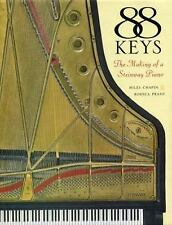 88 Keys : The Making of a Steinway Piano by Miles Chapin Hardcover Book