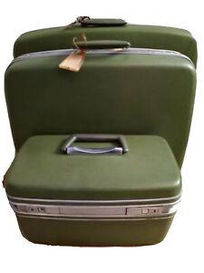 Vintage Samsonite 3pc Luggage Set w/KEYS