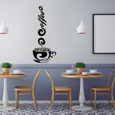 Coffee Mugs Tea Coffee Art Decal Vinyl Wall Stickers Kitchen Pub Deor