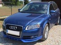 Apron For SE Audi A4 B7 05-08 Front Bumper spoiler S line lip Valance