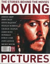MOVING PICTURES MAGAZINE June/July 2006 JOHNNY DEPP JAMES DEAN STEVE McQUEEN