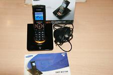 Samsung SIT200 W-Lan Office Telefon + W5100 Schnurlostelefon Wie Neu Top