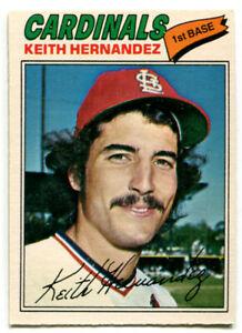 1977 OPC Keith Hernandez Card #150 St. Louis Cardinals