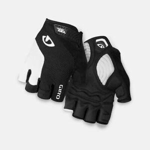 New Men's Giro Stradedure Supergel SG Cycling Bike Gloves XXL (11) White/Black