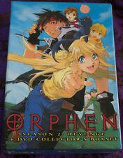 Orphen Season 2: Revenge - 6 DVD Collector's Boxset - Complete