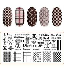 DIY Manicure Nail Art Stamping Image Plate Template Stamper