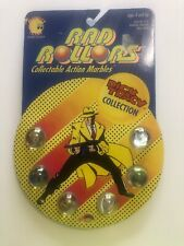 Dick Tracy Rad Rollers Action Marbles  Spectra Star Collection