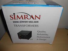 Simran AC-300 Step Up/Down Voltage Converter Transformer 110V/220V - 300 Watts