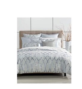 Hotel Collection Dimensional King Comforter Color Blue $500