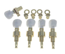 Gold w/ Pearl Buttons 5 String Banjo Geared Tuners Tuning Keys Machine Head