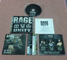 (Slipcase) RAGE - Unity - 2002 JAPAN OBI + B/T ** MIND ODYSSEY , ARTENSION