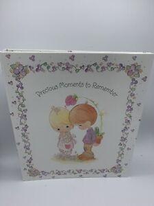 "NIB! ""Precious Moments To Remember"" 1998 Hallmark 11x13"" Expandable Photo Album"