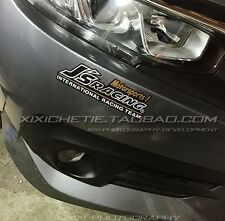 JDM Car Sticker JS Racing motorsports Vinyl Decal 3M Reflective 18.5cm(7.3inch)