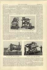 1921 Aero Concrete Mixer Ransome Winget Pressure Block Maker