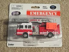 Boley Emergency Ladder 87 Fire Truck S&S Die-Cast 1:64 Scale MOC 2003