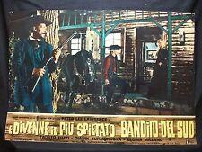 FOTOBUSTA CINEMA - E DIVENNE IL PIU SPIETATO BANDITO DEL SUD -P.L. LAWRENCE-1967