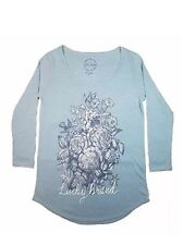 LUCKY BRAND NEW  3/4 Sleeve Graphic Tee Womens Top Size XXL 2XL