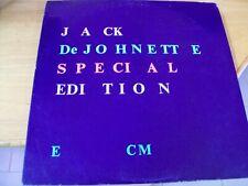 JACK DEJOHNETTE SPECIAL EDITION  LP MINT-- ECM USA