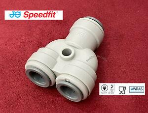 "John Guest 3/8"" Two Way Divider - Y Connector Equal Splitter Speedfit - PI2312S"