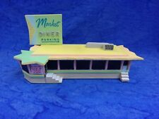New in Box GREAT AMERICAN DINERS The Market Diner by Lefton's HO Scenery 1993