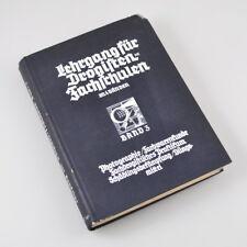 Lehrgang für Drogisten-Fachschulen - Band 3 - Photographie Farbwarenkunde - 1940
