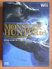 JAPAN Monster Hunter Tri Official Guide Book