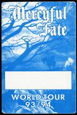Mercyful Fate 1993 Shadows Concert Tour Backstage Pass! Authentic Original Otto
