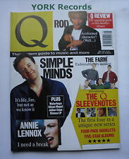 Q MAGAZINE - May 1991 - Simple Minds / Annie Lennox / Rod Stewart / The Farm