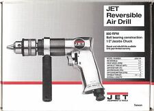 "JET 1/2"" Reversible Air Drill JSM-704 90psi 800 RPM -NEW-"