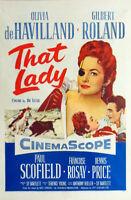 That lady Olivia De Havilland vintage movie poster #2