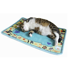 Cute Velvet Warm Pet Blanket Mat Bed Pet Fleece Soft Blanket Beds Mat Ic1U