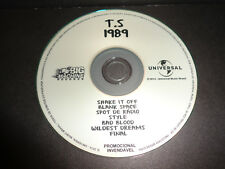 TAYLOR SWIFT 1989 RADIO SAMPLER CD Universal Music Brazil VERY RARE 2014 PROMO
