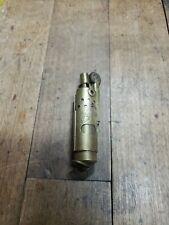 Vintage 1920 Jmco Imco TFA 105107 Brass Trench Lighter