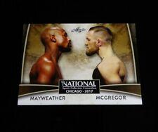 Conor McGregor UFC ~ 2017 Leaf Conor McGregor vs Floyd Mayweather NEW!