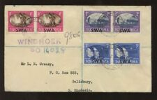 Handstamped George VI (1936-1952) British Colony & Territory Stamps