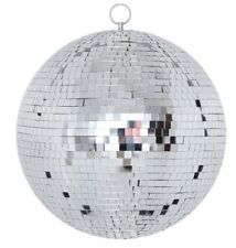 "Large 20"" Mirror Glass Disco Ball DJ Dance Home Party Bands Club Stage Lightning"