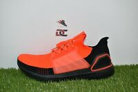 New Adidas UltraBOOST 19 Solar Red Black Mens Size 11 Running Sneakers G27131