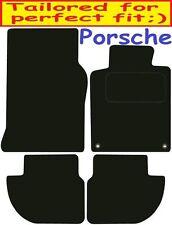 Tailored Deluxe Quality Car Mats Porsche 944 1982-1991 ** Black **