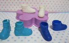 "3pr barbie Modern Stacie 9"" sister Doll Shoes for clothes-Tennis Trainers hi top"