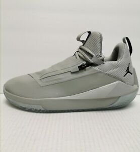 Air Jordan Jumpman Hustle Men's Light Smoke Gray Basketball Shoes Size 9.5 M(D)
