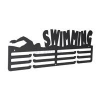 Swimming Medal Hanger Holder Sport Gym Medal Display Rack Ideal Wall Decor