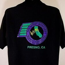 Great Western Quartet Convention Mens T Shirt Vtg 90s Fresno CA Single Stitch XL