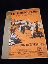 Partition Sur un marché persan Albert W Ketelbey Grand Format