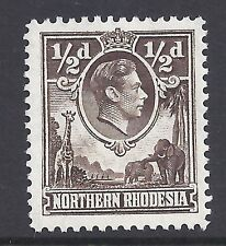 N.RHODESIA, 1938 KGV1 DEFINS, 1/2d SG 26, MNH SINGLE, CAT £2.25
