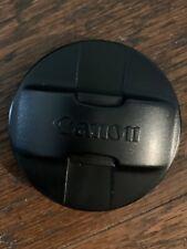 Genuine Canon 72mm Front Lens Cap Original Pinch Snap On Japan Vintage OEM