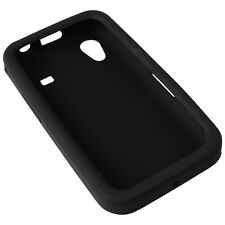Silicon Case Tasche black für Samsung S5830 Galaxy Ace