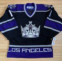 Authentic Reebok 6100 Los Angeles Kings Anze Kopitar Hockey Jersey Size 46