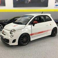 Fiat ABARTH 500 Essesse 1:24 scale model diecast toy car miniature dark wheels